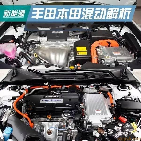本田/丰田混合动力系统对比分析